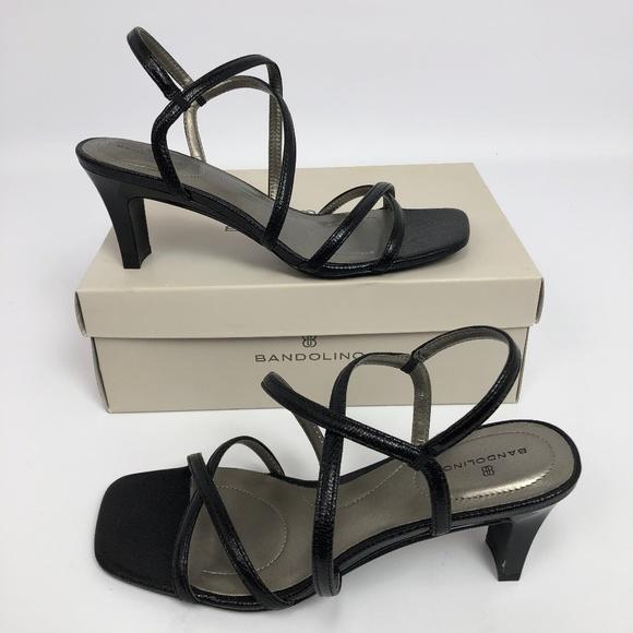 78182a390b Bandolino Shoes | Womens Obexx Strappy Sandals Black 95m | Poshmark